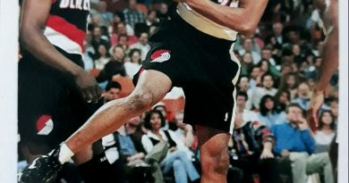 NBA 1994-1995. James Robinson (Portland Trail Blazers). Upper Deck.