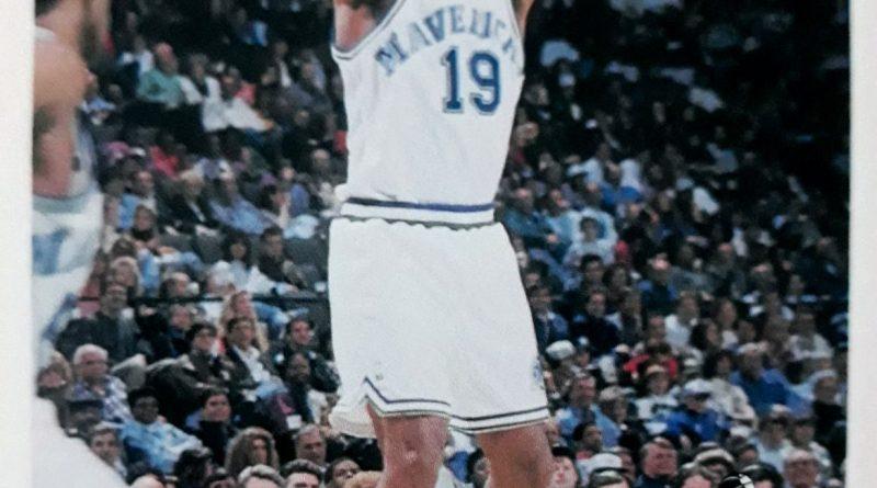 NBA 1994-1995. Tony Campbell (Dallas Mavericks). Upper Deck.
