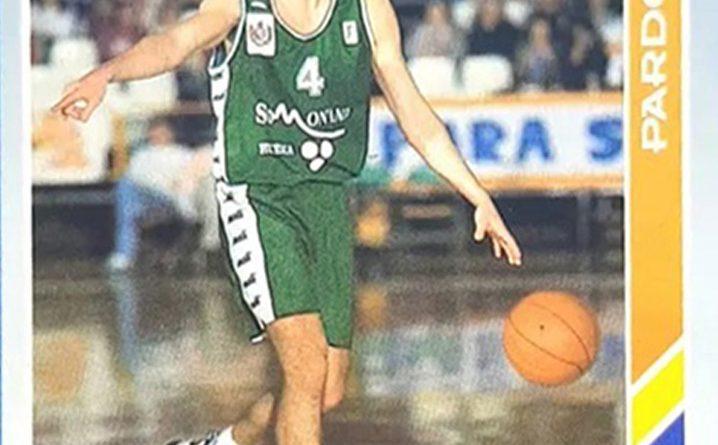 ACB 95. Iván Pardo (C.B. Peñas Huesca). Nº 183. Editorial Mundicromo. 📸: Grupo de Facebook Nuestros álbumes de cromos.
