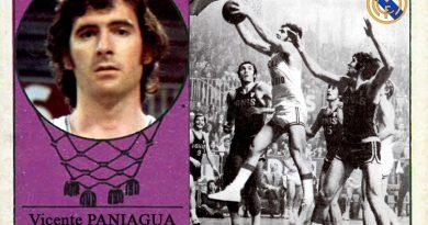 Vicente Paniagua (Real Madrid). 📸: Cromo-Montaje del Grupo de Facebook Nuestros álbumes de cromos.