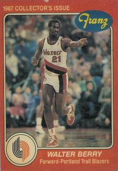 1986-87. Walter Berry (Portland Trails Blazers). Franz. 📸: Rubén Rodríguez Varela.