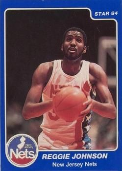 NBA 1983-84. Reginald Johnson (New Jersey Nets) Trading Card Database. 📸: Francisco Martín.