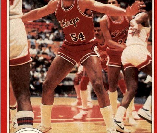 NBA 1983-84. Wallace Bryant (Chicago Bulls). Star. 📸: Francisco Martín.